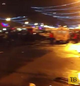 Жесть!!! Пять человек погибли во время лобового столкновения... ДТП на Кутузовском проспекте, г. Москва
