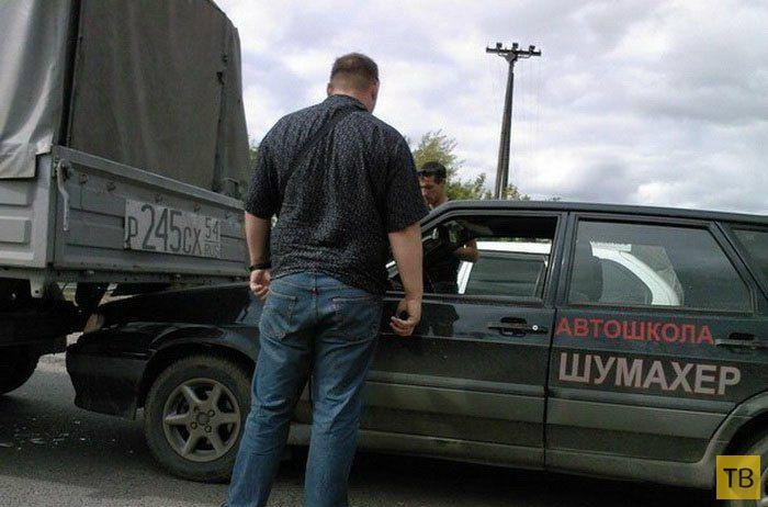 Подборка автомобильных приколов, часть 2 (25 фото)