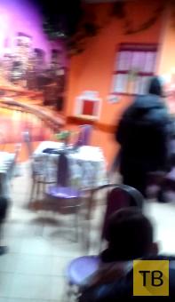 Пьяный поп в г. Киров