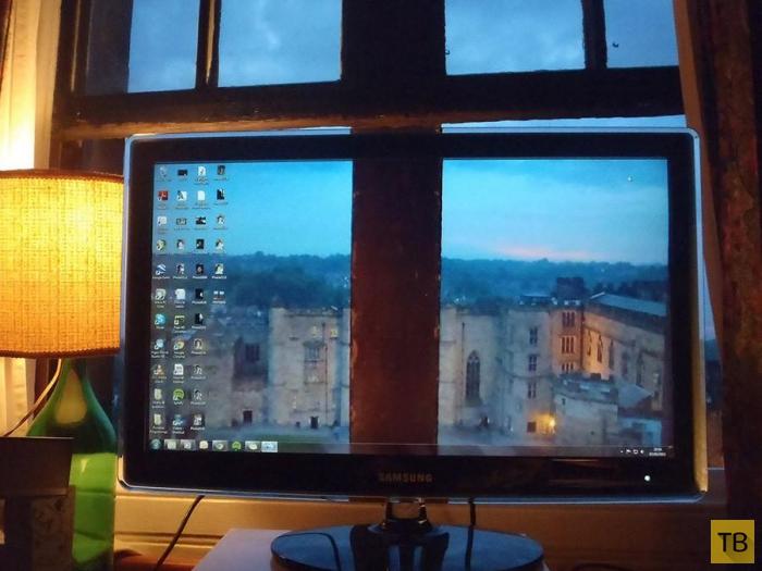 Самые креативные идеи для оформления фона рабочего стола на вашем мониторе (15 фото)