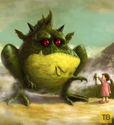 Жаба...