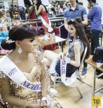 Miss International Queen 2014 - конкурс красоты для транссексуалов в Паттайе (10 фото)