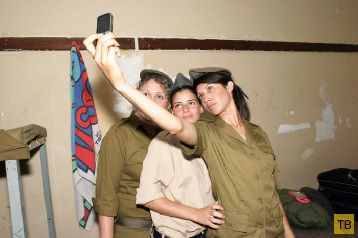 Начальная подготовка девушек Армии обороны Израиля 2007 (16 фото)