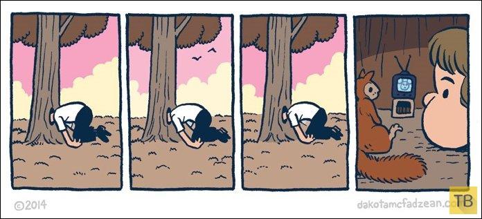 Веселые комиксы и карикатуры, часть 226 (28 фото)