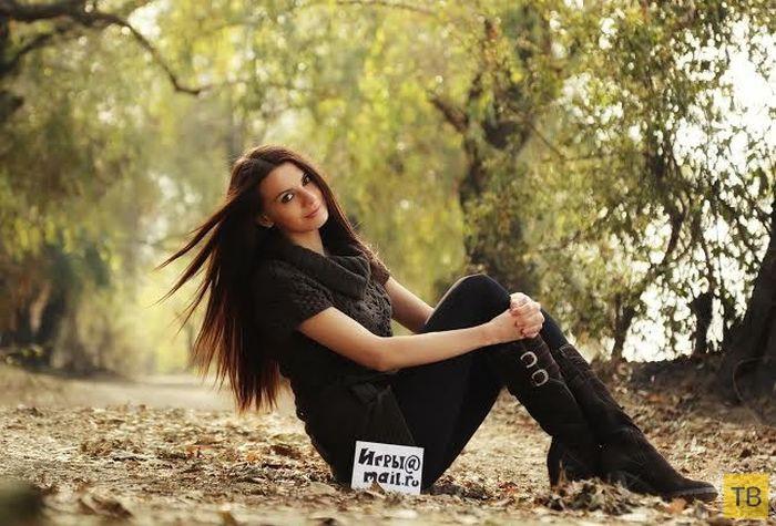 Необычная участница онлайн-конкурса красоты (13 фото)