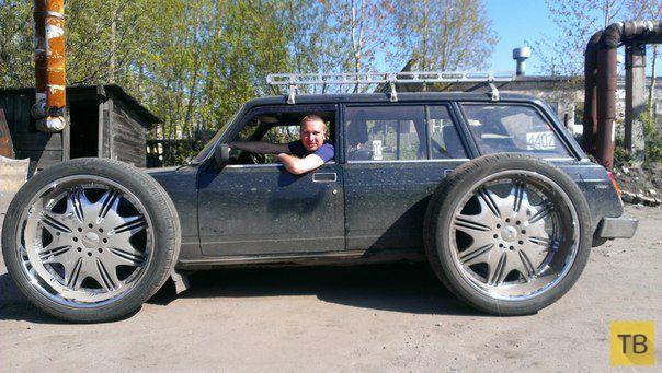 Автомобильные приколы, часть 19 (24 фото)