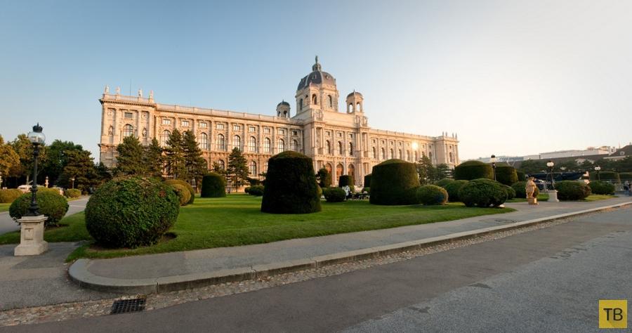 Самые величественные достопримечательности Вены (14 фото)